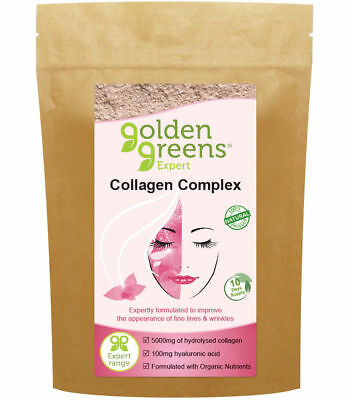 Golden Greens Expert Collagen Complex  300g *Gluten & Lactose Free* ONE MONTH SU