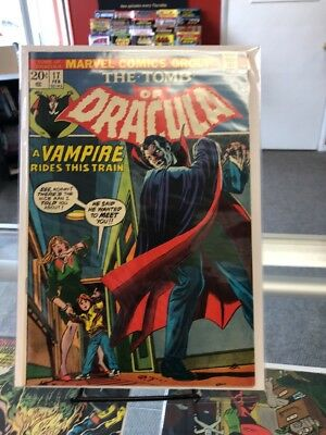 Tomb of Dracula comic 17 Blade bitten by Dracula 19 1st mention of Vampire blood