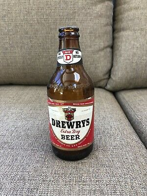 Drewrys Extra Dry Beer Bottle 1960