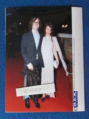 "Original Press Photo - 8""x6"" - PULP - Jarvis Cocker & wife - 2005 - B"