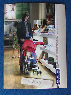 "Original Press Photo - 8""x6"" - PULP - Jarvis Cocker & family - 2004 - C"