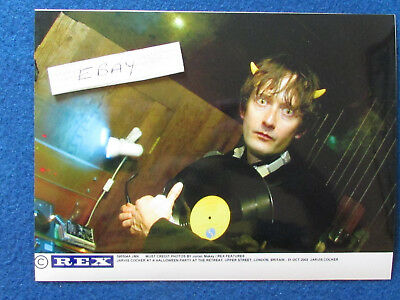 "Original Press Photo - 8""x6"" - PULP - Jarvis Cocker - 2002 - J"