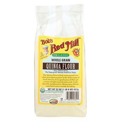 Bob's Red Mill Organic Quinoa Flour - 22 oz - Case of 4