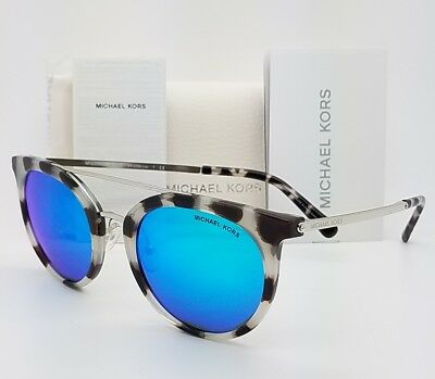 9fb1180ef1 New Michael Kors sunglasses MK2056 327525 50mm Silver Blue Round MK 2056 Ila