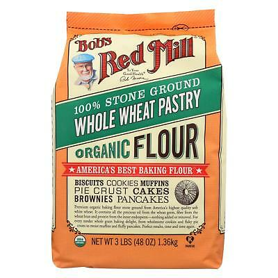 Bob's Red Mill Organic Whole Wheat Pastry Flour - 48 oz - Case of 4