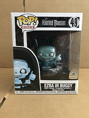 Disney Parks The Haunted Mansion Ezra In Buggy #49 Pop Rides Funko In Hand