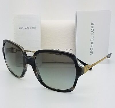 3bfa464a36 New Michael Kors sunglasses MK2053 328911 56 Bia Black Gold Gradient Square  2053