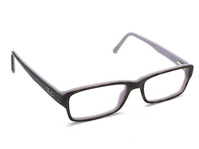 adb17ae5ab Ray-Ban RB 5169 5240 Tortoise Purple Rectangular Eyeglasses Frames 52-16 140