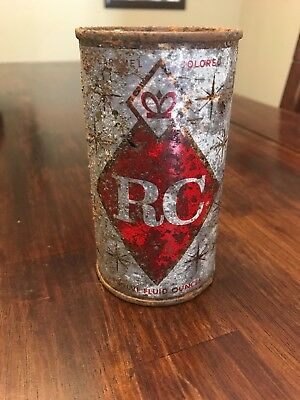 Vintage RC Royal Crown Cola Pull Top Can 12 ozs