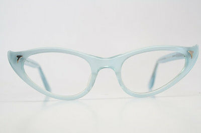 Baby Blue Cat Eye Glasses Vintage