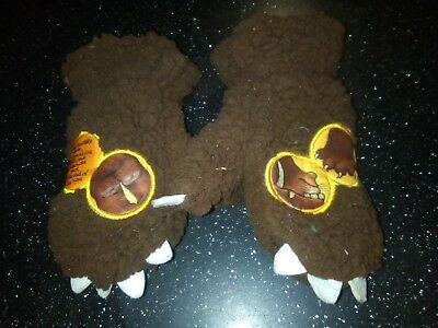 Cute and fluffy Gruffalo Mittens / gloves for a toddler