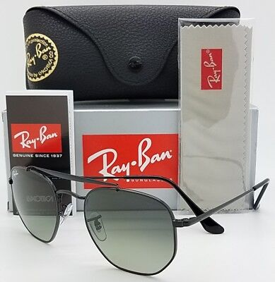 31bdac2bd865a NEW Rayban Marshal sunglasses RB3648 002 71 Black Grey Gradient AUTHENTIC  3648