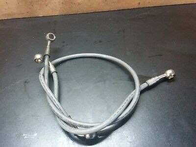 11-15 BMW G650GS Front Brake Line Hose Stainless Steel