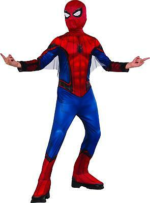 Marvel Boys Homecomming Spiderman  Halloween Costume NWT  Sz Small 3 to 4 Years