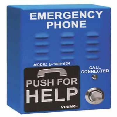 Viking Electronics Emergency Phone With 5 Number Dialer E-1600-65A