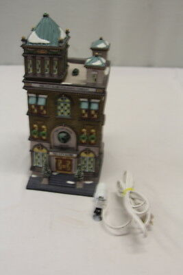 Vintage Dept 56 Heritage Village Christmas in the City Series The City Globe