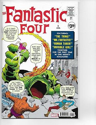 Fantastic Four #1 Marvel 2018 Facsimile Edition 1962 reprint Near Mint