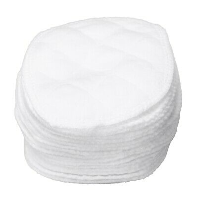 20 pcs Ultra Comfort Breast Pads Washable Extra absorbent cotton Baby, Whit B8E5