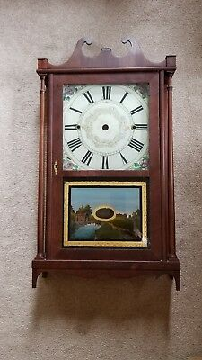 Norris North Wooden Works Torrington Ct Antique Clock Case
