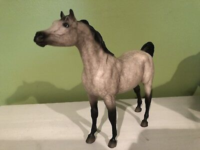 Retired Breyer Classic Arabian Stallion Dappled Grey