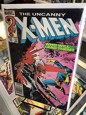 The Uncanny X-men #201 (Marvel 1986) First Cable as baby Nathan; Whilce Portacio