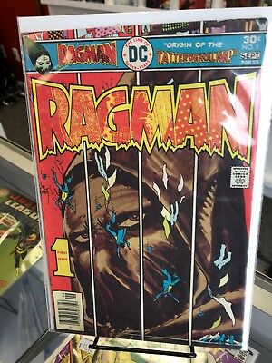 Ragman #1 (DC 1976) Origin and first appearance