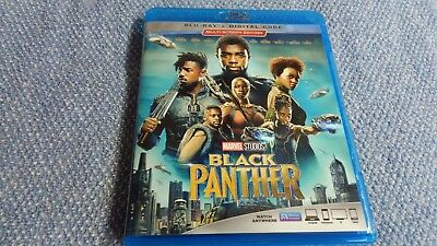 Black Panther (2018) Blu-ray + Digital Chadwick Boseman Marvel Studios Disney