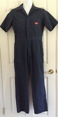 Men's Dark Blue DICKIES SS Coveralls/Jumpsuit - Size S