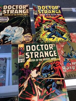Doctor (Dr.) Strange 170 171 172 (Marvel 1968)