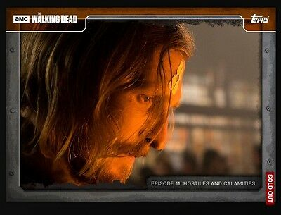Topps Walking Dead Card Trader Digital 711 Orange Dwight DIGITAL CARD