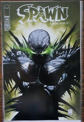 Spawn 186 Rare 2nd Second Print