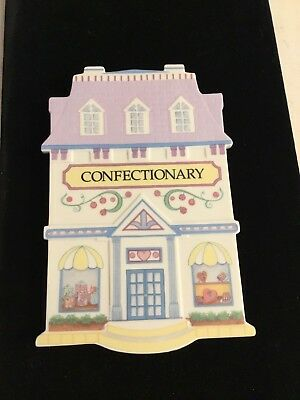 1992 Confectionary The Lenox Village Trivets Fine Porcelain Trivet