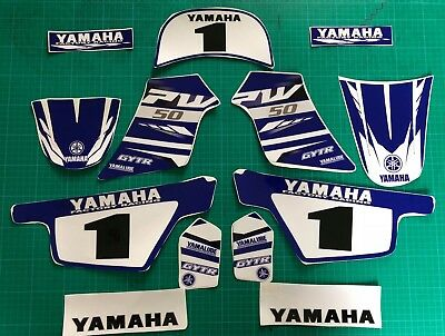 pw50 decals graphics yamaha pw 50 personal peewee laminated motocross