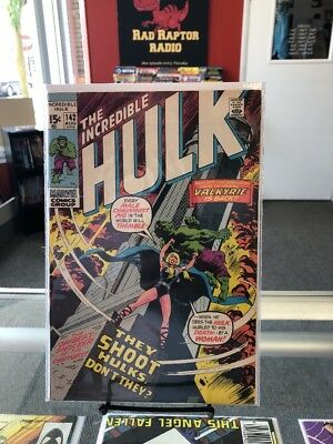 The Incredible Hulk #142 (Marvel, 1971) - Second Valkerie app