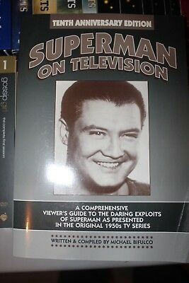 SUPERMAN book collection lot George Reeves history On Television 1950s Serial