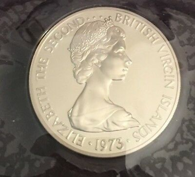 1973 First Coinage of the British Virgin Islands Proof Set - Collection -