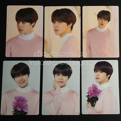 Bts Official Love Yourself Tour Mini Photocard Jimin