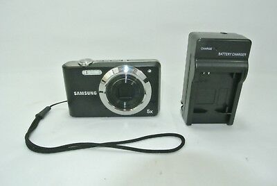 Samsung PL80 Camera 5x Zoom 5.1-25.5mm 1:3.4-5.9 28mm Charger