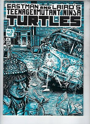 Eastman And Laird's Teenage Mutant Turtles #3, MINT, First Printing, Beautiful,