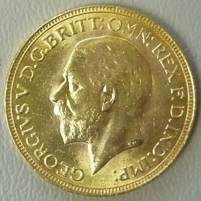 FULL BRITISH GOLD SOVEREIGN from 1930 great condition coin. Trusted Seller!