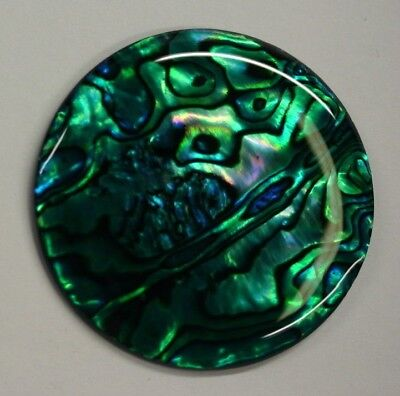 Green Paua Shell Round High Quality Cabochon Calibrated 16m 38mm Gemstones