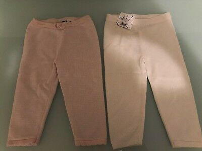Janie and Jack Baby Girl Sweater Pants Lot 12-18m