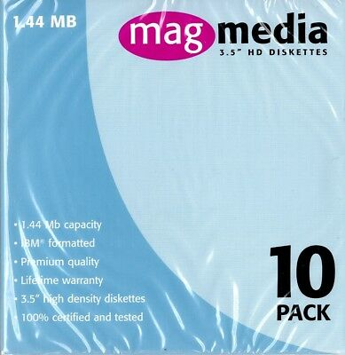 "MAGMEDIA 3.5"" HD Diskettes"