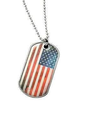 2 Military Dog Tags - Custom Embossed Black - GI Identification w/ Silencers