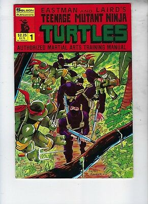 Eastman And Laird's TMNT Authorized Martial Arts Trainiing Manual, #1, Solson