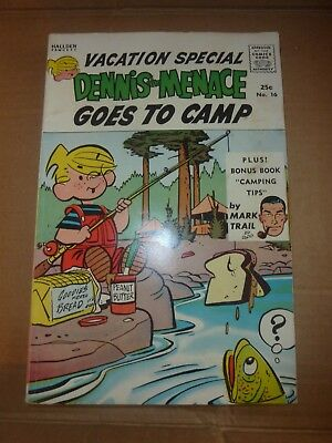 DENNIS THE MENACE GOES TO CAMP #16 VACATION SPECIAL Summer 1963