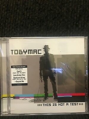 Toby Mac [This Is Not A Test] (Sealed)