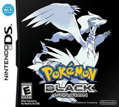 Pokemon Black 2 NINTENDO DS Video Game