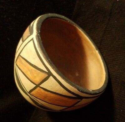 Vintage Santa Clara C. Nieto Pueblo Pottery Jar Native American Indian