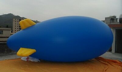 5M 16ft Giant Inflatable Advertising Blimp /Flying Helium Balloon/Free Logo